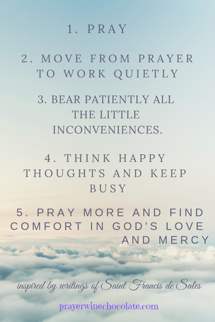 photograph about St Francis Prayer Printable titled Saint Francis De Income 5 Hassle-free Rules for a Superior Working day